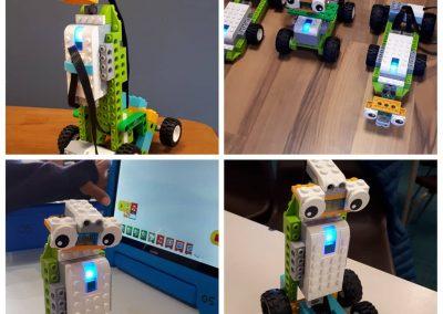 Racing Spy Robots